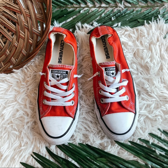 Converse Shoes - Converse All Star Shoreline Low Top Sneaker Red